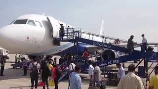 Lucknow India  city photos gallery : INDIA : Lucknow Chaudhary Charan Singh Airport Actions : Arrivals Takeoff Pushbacks 16 Mar 15