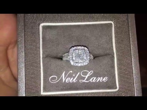 Beautiful Neil Lane Diamond Ring Bridal Set
