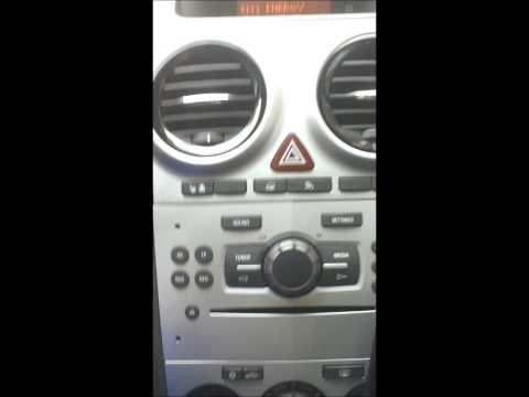 comment demonter autoradio opel corsa d
