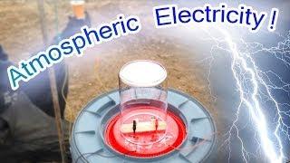 Free Atmospheric Electricity Powers Small Motor - Tesla Radiant Energy