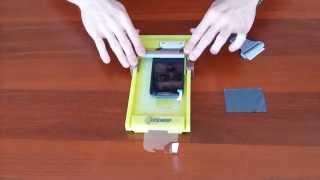 Универсальное устройство для наклеивания пленок на смартфоны Плёнкер