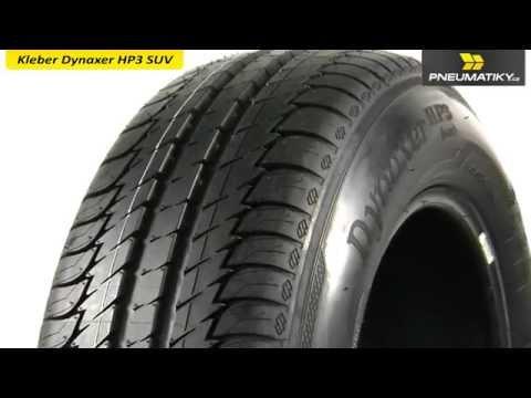 Youtube Kleber Dynaxer HP3 SUV 235/55 R18 100 H Letní