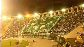 Lindo bandeirão da TUP no jogo contra a Ponte Preta no estadio do Pacaembu, com 2 golaços de Assunção e Juninho!