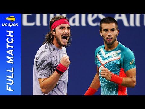 Stefanos Tsitsipas vs Borna Coric in a five-set thriller! | US Open 2020 Round 3