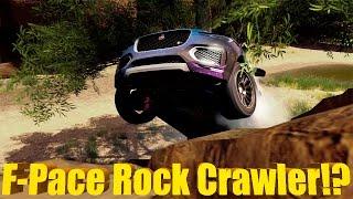 Forza Horizon 3 | NEW DLC! Jaguar F Pace LIFTED ROCK CRAWLER BUILD