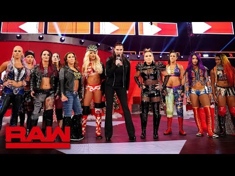 Ronda Rousey's Open Challenge becomes a high-stakes Gauntlet Match: Raw, Dec. 17, 2018
