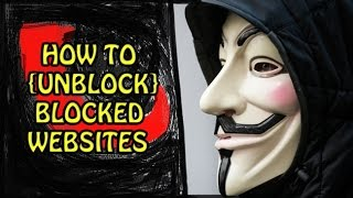 How To Unblock Blocked Websites 2016 Trick