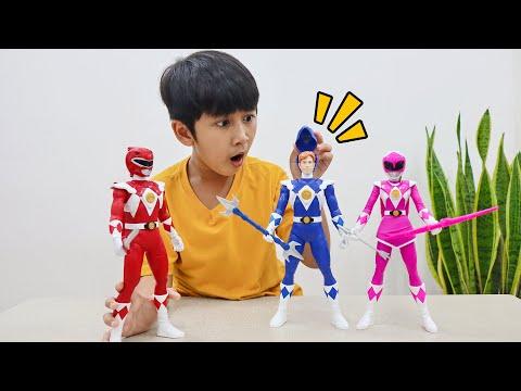 Ziyan Beli Mainan Power Rangers Mighty Morphin di Toys Kingdom