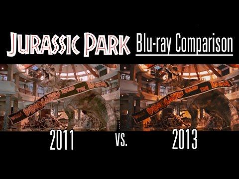 Jurassic Park Blu-ray Comparison [2011 vs 2013 Transfer]
