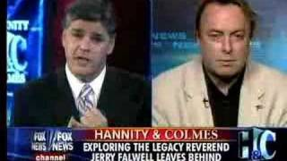 Video Christopher Hitchens on Hannity & Colmes about Rev. Falwell's Death MP3, 3GP, MP4, WEBM, AVI, FLV April 2018