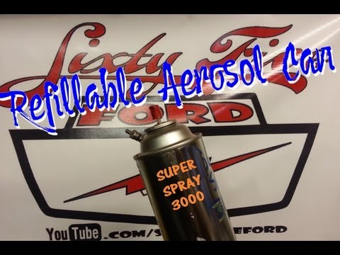 aerosol - To see some nice Commercially made units on Amazon click here http://astore.amazon.com/sixtyfiveford-20 Great for filling with your own concoctions or fill w...