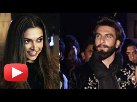 Deepika Padukone Thanks Ranveer Singh For His Supp