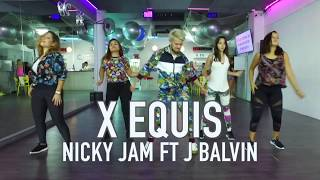 X Equis  Nicky Jam ft J Balvin Coreo by Cesar James Zumba Cardio Extremo Cancun