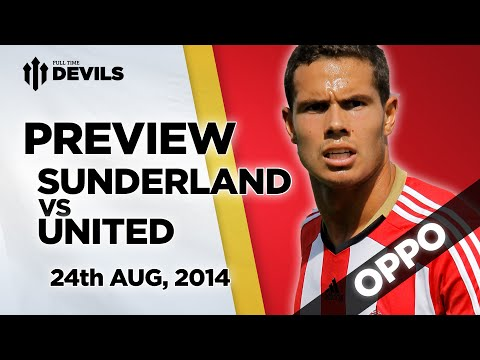 Sunderland - Our mate Crichton is back to give his Oppo view on Manchester United's away trip to Sunderland this Sunday. He's happy with his teams summer spending but confused by ours. Would the real MUFC,...