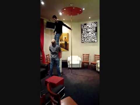 Epic Pole Dance Fail