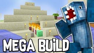 Minecraft Xbox - BUILDING A PYRAMID?!! - MEGA Building Time [#83]