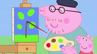 Peppa Pig en Español Episodios completos Pintura | Pepa la cerdita