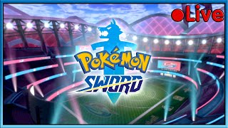 Pokemon Sword - Finishing The Game! (Maybe) - • Live