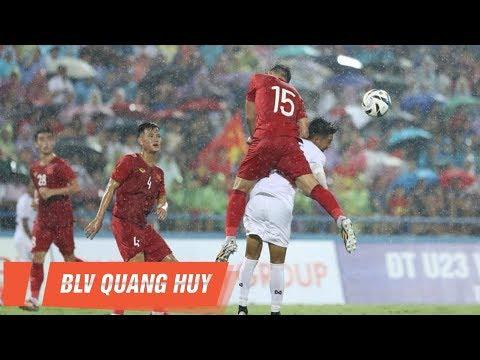 U23 Việt Nam - U23 Myanmar bị gián đoạn bởi sấm chớp siêu to khổng lồ | NEXT SPORTS - Thời lượng: 93 giây.