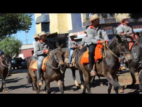 Cavalgada do Rotary Clube da cidade de Lagoa Formosa 2012