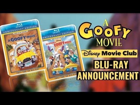 A Goofy Movie And An Extremely Goofy Movie DMC Blu-rays Announced