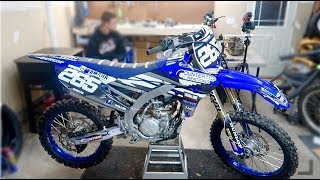 8. 2018 YZ250F Gets a NEW Look!!!