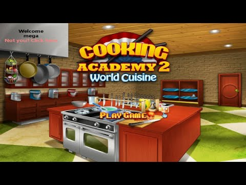 Cooking Academy 2  In English