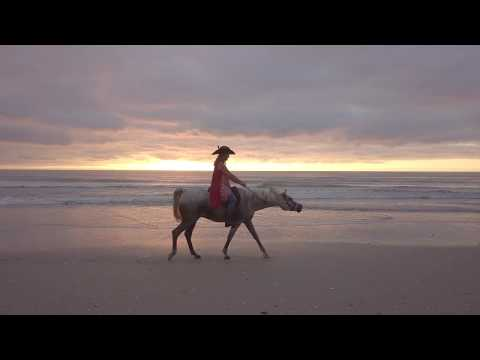 Horseback Sunrise on Carolina Beach