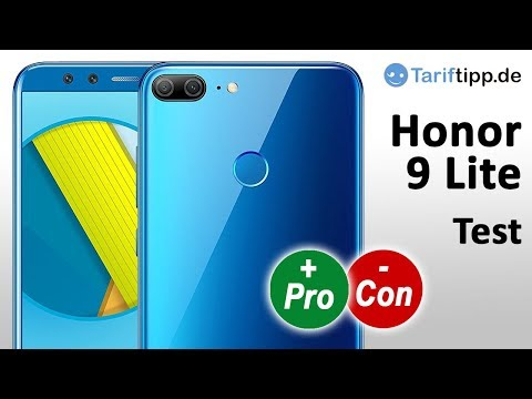 Honor 9 Lite | Test deutsch bei Handytests Tariftipp