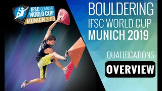 IFSC Climbing World Cup Wujiang 2019 - Boulder - Qualifications Overview by International Federation of Sport Climbing