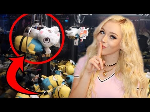THE SECRET TO WINNING CLAW MACHINES!!!