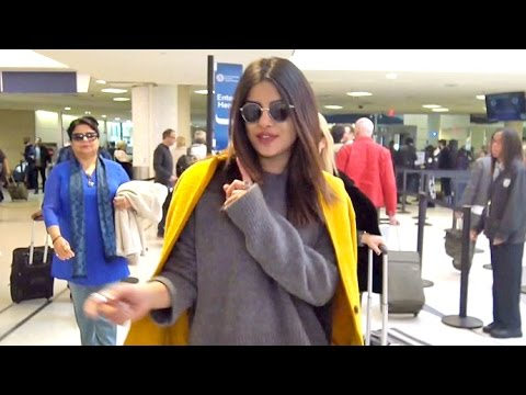 Priyanka Chopra Reveals 'My Neck's Sore Still' Following Quantico Set Concussion (видео)