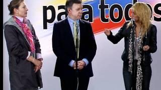 Shakira y el Presidente Santos (Colombia), juntos por la educación