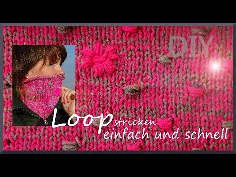 Loop stricken – schnell und einfach im Punktdesign [DIY] auch für Anfänger