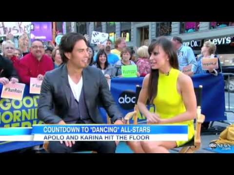 Apolo Ohno - 9/21/12 GMA - Countdown to