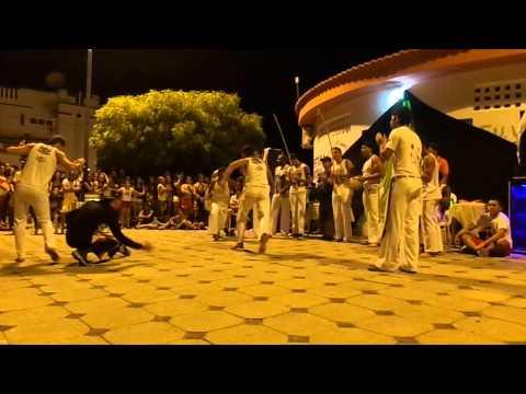 Apresentação do Grupo de Capoeira Raça Nova De Piancó no 5º Aulão
