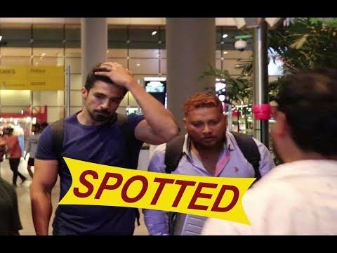Saqib Saleem Spotted At Airport