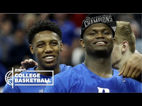 Zion Williamson, RJ Barrett lead Duke to ACC championship over FSU   College Basketball Highlights