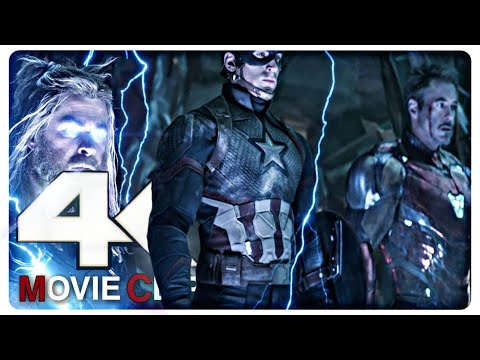 """Let's Kill Him Properly This Time"" Trinity - AVENGERS:ENDGAME (2019) 4K Movie Clip 