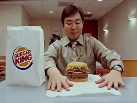 CREEPY Burger King Commercial