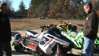 9. 2012 arctic cat  f8 vs 2012 ski doo xrs etec 800 vs polaris switchback 800