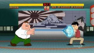 Street Fighter Peter vs Mr. Washee Washee