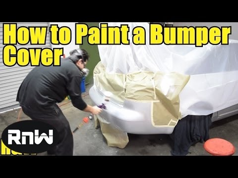 How to Repair and Paint a Plastic Bumper Cover For Beginners – Part II
