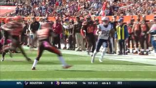 Tom Brady Throws 1st TD of the Season! | Patriots vs. Browns | NFL by NFL