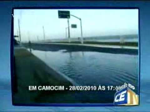 Em Camocim / TV Verdes Mares (MEEU VIÍDEO)