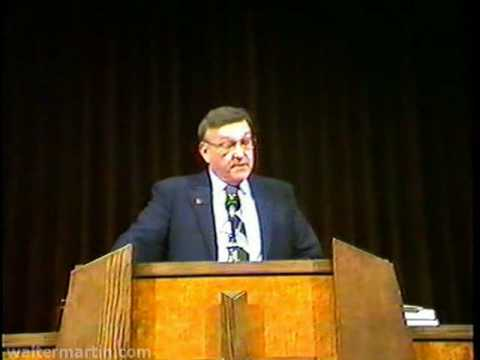 Dr. Walter Martin – Part 1 of 2 – Rise of the Cults and Mormonism 1988