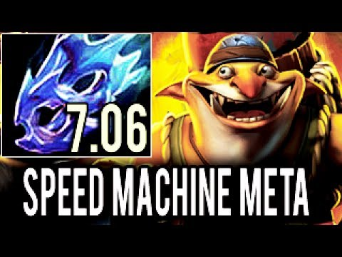 WTF Speed Machine Gun Damage Techies by Arteezy Craziest Game 7.06 Dota 2