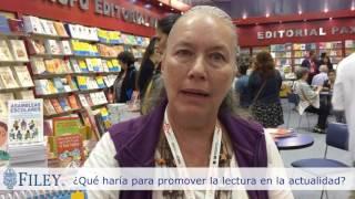 Entrevista a Maria Patricia en la FIL Guadalajara