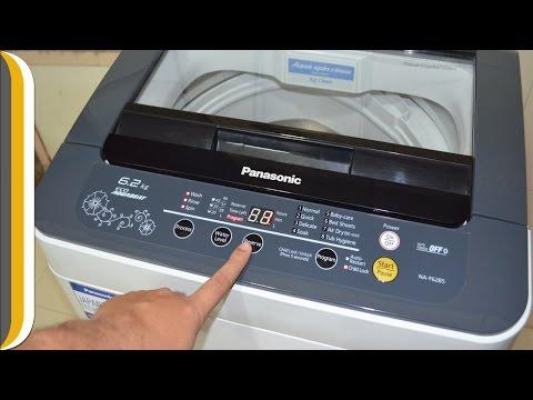 Panasonic NA-F62B5HRB Fully-automatic Washing Machine REVIEW/DEMO