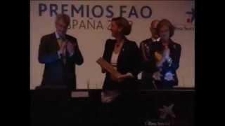 2012-05-09-Manos Unidas recibe el Premio FAO España 2012 de manos de S. M. la Reina Doña Sofía